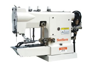 High Speed Button Attaching Sewing Machine pictures & photos