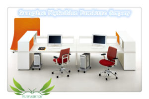High Quality Melamine Office Staff Desk (OD-74) pictures & photos