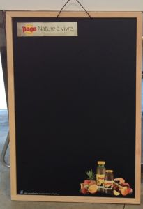 2015 New Color Frame Chalkboard for Sale pictures & photos