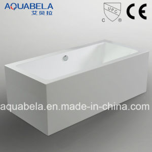 Luxury Bathroom Acrylic Rectangle Freestanding Bathtub (JL629) pictures & photos
