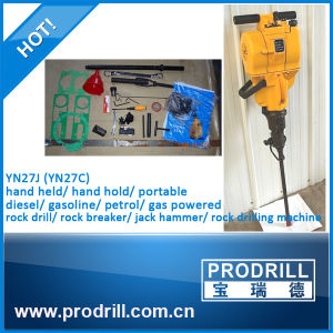 Yn27c Handheld Internal Combustion Gasoline Powered Rock Drill pictures & photos