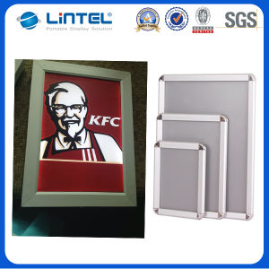 Aluminum Picture Frame Double Sided Click Frame (A1/A2/A3/A4) pictures & photos