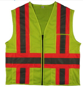 High Visibility Safety Traffic Reflective Mesh Vest pictures & photos