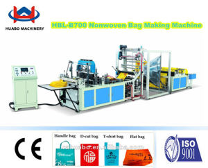 Nonwoven Fabric Vest Bag Making Machine pictures & photos
