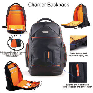 Fashion Smartbag Laptop Backpack With Built In Battery