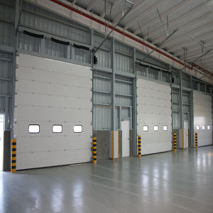 Industrial Sectional Door Fire Door Automatic Roll-up Shutter Door (HF-0100) & China Industrial Sectional Door Fire Door Automatic Roll-up Shutter ...