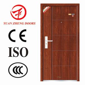 Entry Security Type Steel Door with Low Price Made in China pictures & photos