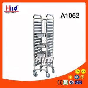 Stainless Steel Tray Rack Trolley (A1052) Ce