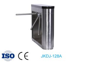 Quality Access Control System with Waist High Tripod Turnstile Barrier Gate pictures & photos