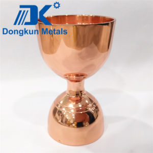 Copper Plating Wine Cup with Precision Casting pictures & photos