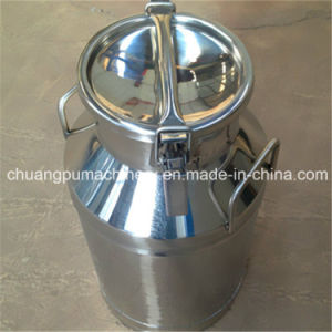 Stainless Steel Milk Bucket for Cow Milk pictures & photos