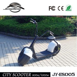 1000W Electric Lifestyle Fat Tire Scooter with Hub Motor pictures & photos