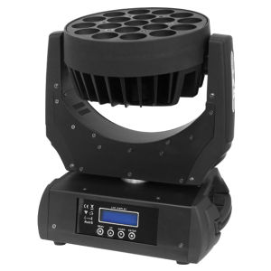 9PCS 15W RGBW 4in1 LED Wash Light Moving Head
