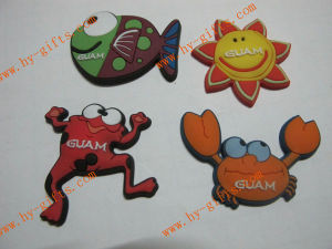 Animal Shape Fridge Magnet, Rubber Fridge Magnet, Embosses 2D/3D Fridge Sticker
