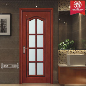 Bon China Wood Glass Pre Hung Door, Solid Wood Frame And Temper Double Glass  Doors, Quality Kitchen Doors Or Bathroom Doors Or Reading Room Doors    China ...