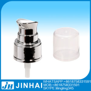 UV Coating Plastic Cream Pump with Half Cap 24/410 pictures & photos