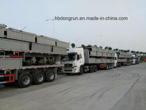 Trailer Manufacturer Supply Fence/Stake Semi Trailer