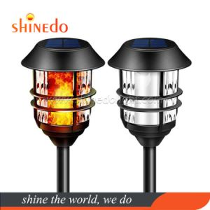 Hot Selling Solar Flame Torch Flickering Dancing Outdoor Waterproof Yard Landscape Light
