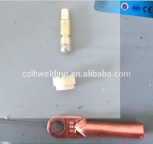 china brazing pin direct and theaded type cable lug and cearmic Motorcycle Thottle Cable Ferrule brazing pin direct and theaded type cable lug and cearmic ferrule equal to bac size