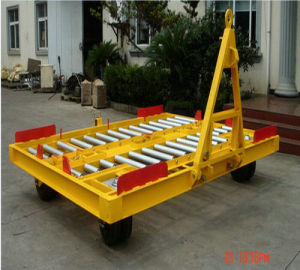7t Airport Pallet Dolly Container Dolly pictures & photos