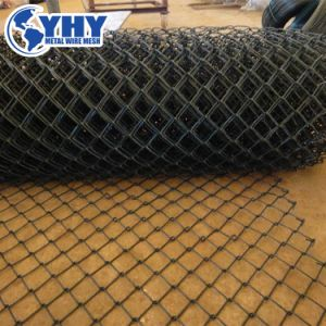Security PVC Coated Galvanized Chain Link Mesh Fence