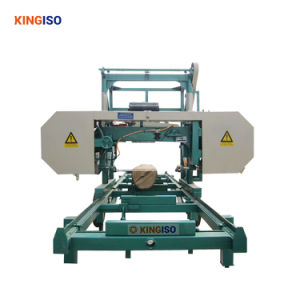China Gold Supplier Portable Horizontal Band Saw for Logs
