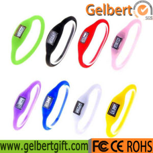 Gelbert New Men Women Silicone LED Touch Digital Sport Wrist Watch