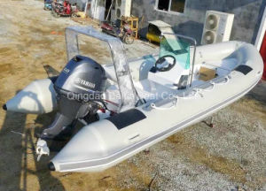 Inflatable High Speed Motor Boat Rib 520 Ce