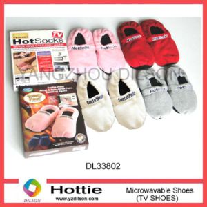 Fleece Heating Slippers/ Microwave Heated Sox / SPA Slipper / Lavender Wheat Bag (DL33802)