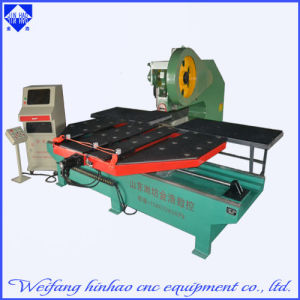 Weifang Jinhao LED Words Hole CNC Punching Machine with Feeding Platform