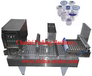 Automatic Washing Cup Filling Sealing Machine pictures & photos