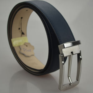 Royal quality Good Workmanship Male Elegant Stylish Men′s Genuine Leather Belt (B-02) pictures & photos
