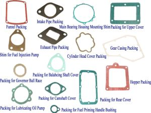 Spare Parts of Single Diesel Engine-Packing Sets
