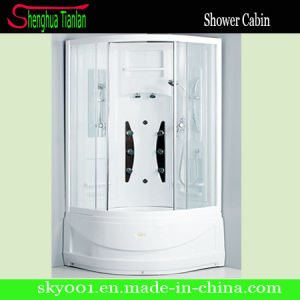 Sector White Finished Aluminium Alloy Frame Shower Cabin (TL-8852) pictures & photos