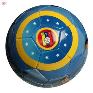 Full Printing Soccer Bal Star Football pictures & photos
