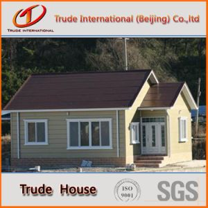 Low Cost Customized Light Gauge Steel Frame Modular Building/Mobile/Prefab/Prefabricated Family Villa pictures & photos