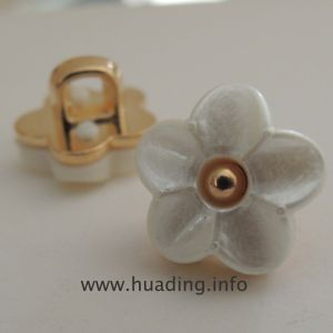 Flower Shape Sewing Button for Accessories B751 pictures & photos