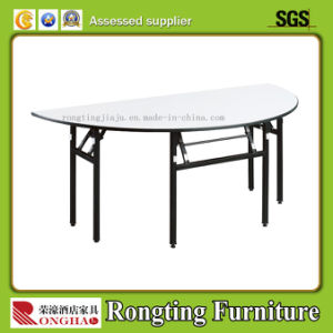 Plywood Restaurant Rectangle Banquet Folding Table (RH-59025)