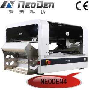 SMT Machine with Camera 48 Reel Feeders (Neoden 4) pictures & photos