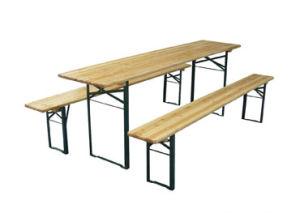 Fir Wooden Garden Folding Beer Table Set (MW12012)  sc 1 st  Ningbo Haishu Mango Import u0026 Export Co. Ltd. & China Fir Wooden Garden Folding Beer Table Set (MW12012) - China ...