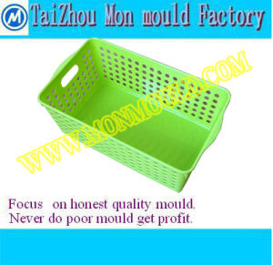 Plastic Vegetable Washer Crate Mould