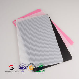 Natural Corflute PP Corrugated Plastic Board pictures & photos