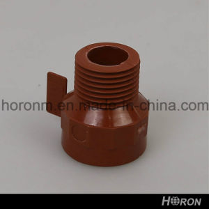 Pph Water Pipe Fitting-Thread Reducer-Elbow-Tee-End Cap-Union (1/2′′X1/2′′)