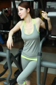 Yoga Tights Women Training Capri Fitness Wear of Crossfit Clothes pictures & photos