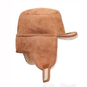 Women Winter Sheepskin Hat with Ear Flap pictures & photos