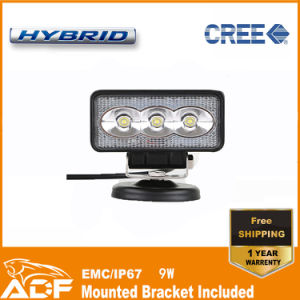 CREE 9W IP67 LED Work Light LED Light Bar LED Car Light for Offroad SUV 4X4 Truck ATV Vehicle Forklift