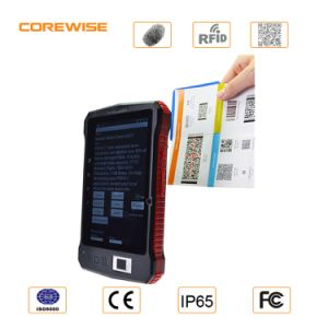 Portable Qr Code Scanner with RFID Fingerprint Reader