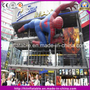 Hot Event Part Decoration Inflatable Spider-Man Cartoon