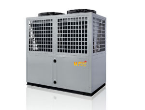 Save75% Electric Low Noise and High Cop 12kw, 19kw, 35kw, 70kw, 105kw 220V-380V/50Hz/60Hz Max 60deg Air to Water Heat Pump pictures & photos