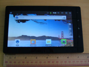 Android 4.0 Tablet PC with Multi-Touch Capacitive Screen Dual Camera Support Video Skype